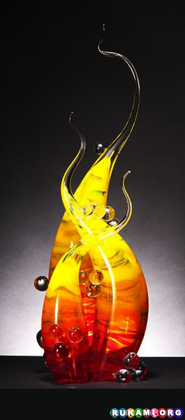 Rick Eggert Glass SculptureRick Eggert Glass Sculpture