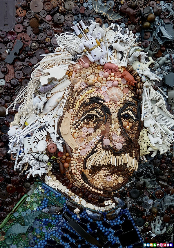 plastic-classics-found-objects-famous-portraits-jane-perkins-4